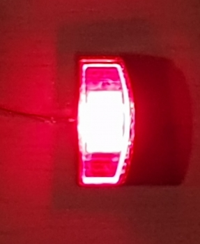 Leuchte Version 40, rot, incl. LED & Widerstand