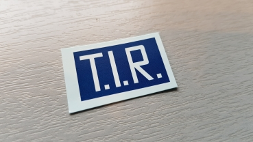1:14 Decal T.I.R.