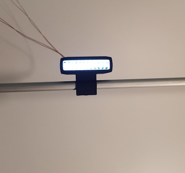1:14 LED Short-Bar / Dachlampe inkl. Beleuchtung