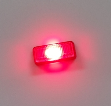 2er Set Positionsleuchte / Blinker, rot , incl. LED & Widerstand